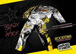 motocross gear monster energy quick peek at answer racing u0027s 2011 rockstar gear
