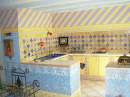 cuisine provencale avec ilot cuisine photos collection et carrelage mural cuisine provencale