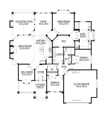 outdoor living floor plans traditional style house plan 3 beds 2 baths 2320 sq ft plan 132