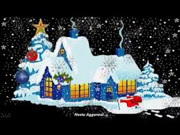 happy holidays merry wishes with beautiful animated
