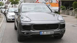 Porsche Cayenne Facelift - porsche cayenne facelift spied virtually undisguised