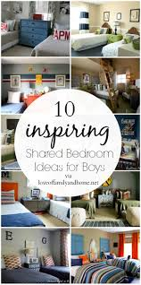 10 shared boys bedroom ideas love of family u0026 home