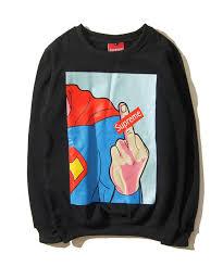sweater brands 2018 hong kong japanese fashion brand retro spoof