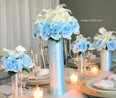 Blue Wedding Centerpieces by Capri Aqua Blue Centerpieces For Aqua Theme Wedding Blue Wedding