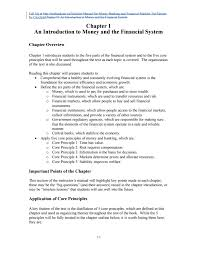 solution manual for money banking and financial markets 3rd