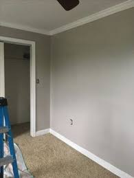 ryan homes palermo hallway sherwin williams adley grey our