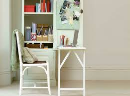 diy craft armoire with fold out table how to turn any bookshelf into a fold out desk desks tiny house