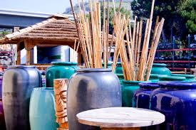 Decorative Bamboo Sticks Bamboo Poles In Vases An Easy Decor Solution Bamboo And Tikis