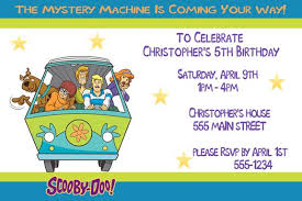 scooby doo birthday party invitation ideas 1 scooby doo party