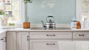 Glass Backsplash In Kitchen Lovely Kitchen Glass Tile Backsplash Home Design Ideas On The