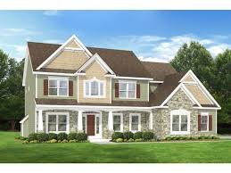 two colonial house plans 3 bedroom 2 bathroom home plan homepw76758 farmhouse home plans