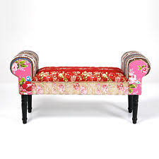 bench sofa uk home furniture special patchwork wing bench kare design uk