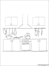 coloring pages of kitchen things kitchen items coloring pages kitchen coloring page coloring pages