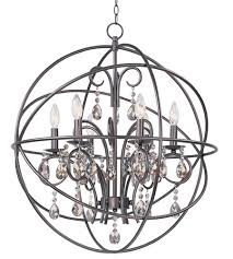 Bronze Ceiling Light Maxim 25144oi Orbit 6 Light 25 Inch Oil Rubbed Bronze Chandelier