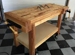 Woodworking Bench Top by Woodworking Workbench Plan Ideas Best House Design