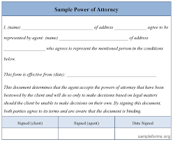 attorney form free power of attorney form free power of attorney