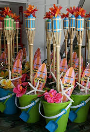 luau party decorations idea for a summer pool party luau party centerpieces luau
