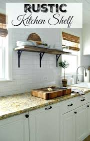 small kitchen shelving ideas rustic kitchen shelving ideas thelodge club