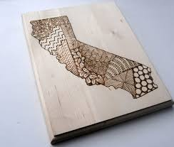 wood state california or any state wood unique and artsy wood burning