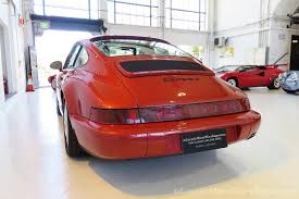porsche carrera red 1990 porsche 911 carrera 4 classic throttle shop