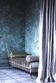 Schlafzimmer Tapete Blau 150 Besten Wohnen Talentierte Tapeten Bilder Auf Pinterest