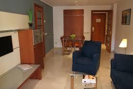 Wohnzimmerm El Ums Eck Aparthotel Suites Marina Abapart Spanien Barcelona Booking Com