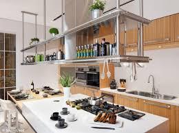 le suspendue cuisine tagre suspendue plafond cuisine ides originales du clairage