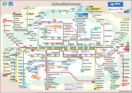 Subway Map by Munich Subway Map