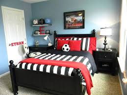 Red Bedroom For Boys Bedrooms For Boys Soccer