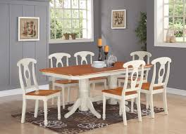 7 piece dining room set for 6 dining table with a leaf and 6