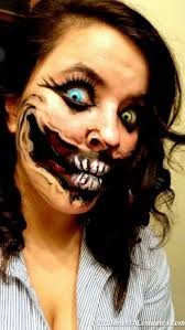 Realistic Scary Halloween Costumes 20 Creepiest Halloween Makeup Ideas Scary Makeup