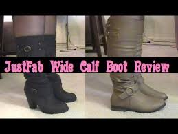 womens boots size 12 wide calf a review of justfab s wide calf boots fall 2013