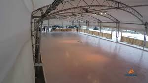 how to build a skating rink in less than two minutes youtube
