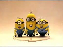 singing happy birthday the minions sing happy birthday to you