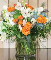 Bouquet Of Flowers In Vase Floral Services U0026 Seasonal Offerings Wegmans