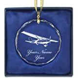 airplane personalized ornament home