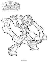 skylanders trap team coloring pages gearshift coloringstar