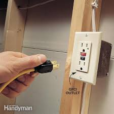 turn porch light into outlet how to install gfci receptacle outlets the family handyman