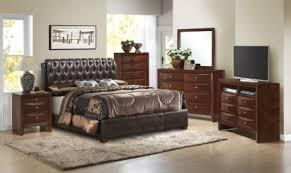 upholstered bedroom set glory glory furniture g1550 upholstered bedroom set in cherry