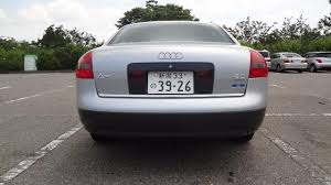 audi a6 tv japanese used audi a6 a6 2 8q tv navi package 4wd 4 0 1998 sedan