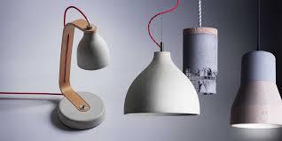 Wohnzimmer Lampe Aus Holz Lampen Und Leuchten Aus Beton Kaufen