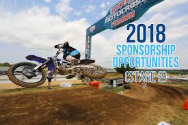 Atv Sponsorship Resume 2018 Sponsorship Season Opportunities Motocross Feature Stories