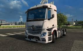 mercedes truck 2016 mercedes actros mp4 1 22 modhub us