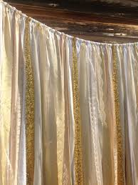gold backdrop gold sequin backdrop ivory white gold lace sequins ribbon