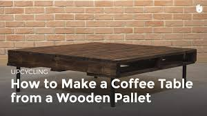diy pallet furniture coffee table recycling pallets sikana