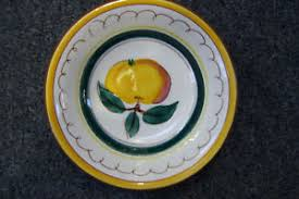stangl pottery terra vintage stangl pottery terra fruit 6 plate made in usa ebay