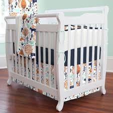 Green And White Crib Bedding Bed Nursery Decor Sets Crib Bedding Set With Bumper White