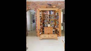Free Standing Kitchen Pantry Furniture by Free Standing Kitchen Pantry Furniture Youtube