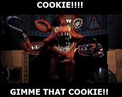 Cookie Meme - foxy want a cookie meme by wolfblade111 on deviantart