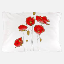 Poppy Bedding Red Poppy Bedding Cafepress